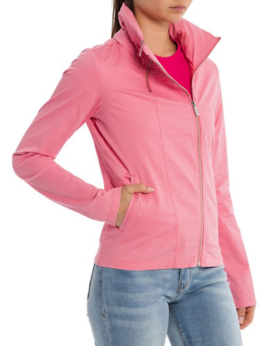 Bench Core Double Zip Jacket-PINK-X-Small 89988158_PINK_X-Small