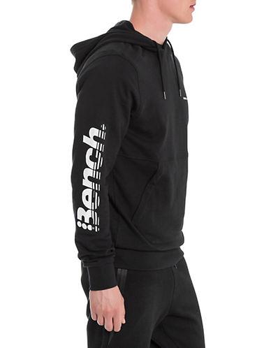 Bench Beach Logo Cotton Hoodie-BLACK-XX-Large 89998390_BLACK_XX-Large