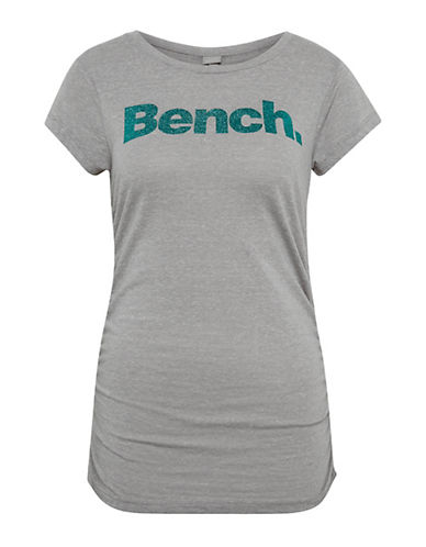 Bench Logo Printed Tee-GREY-X-Small 90095796_GREY_X-Small
