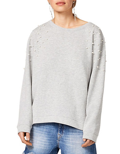 Esprit Embellished Sweatshirt-GREY-Large 90049734_GREY_Large