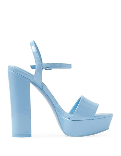Aldo Kandie Platform Heeled Sandals-LIGHT BLUE-7.5