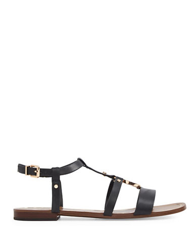 Aldo Evlyn Strappy Gladiator Sandals-BLACK-8.5
