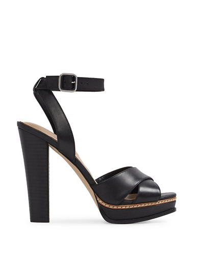 Aldo Norell Leather Platform Sandals-BLACK-7