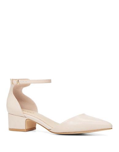 Aldo Zusien Ankle Strap Dress Shoes-BONE-9