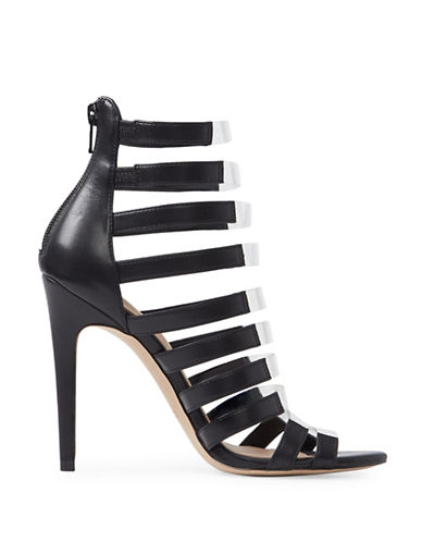 Aldo Daysie Caged High Heel Sandals-BLACK-9