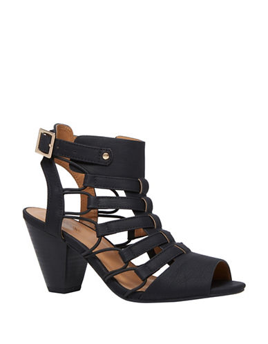 Call It Spring Goba Cut-Out Mid-Heeled Sandals-BLACK-8