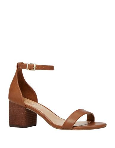 Call It Spring Borewiel Block Heel Sandals-BROWN-9