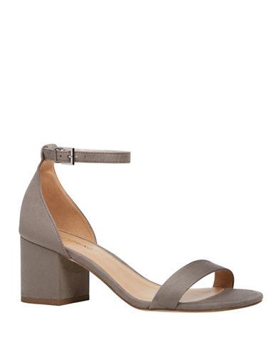 Call It Spring Borewiel Block Heel Sandals-GREY-8