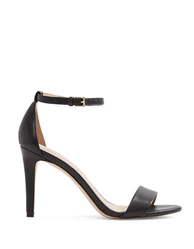 Aldo Camy Mid Heel Sandals-BLACK-8.5