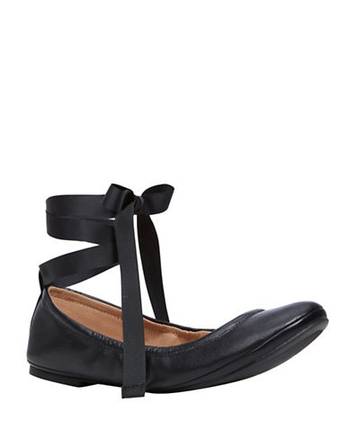 Call It Spring Conboy Ballerina Flats-BLACK-7.5