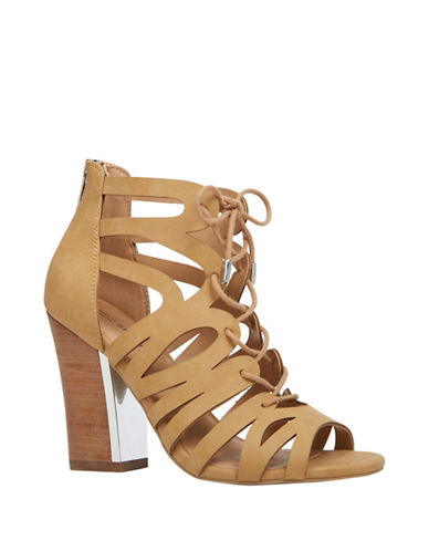 Call It Spring Tavernelle Cutout High Heels-BROWN-8