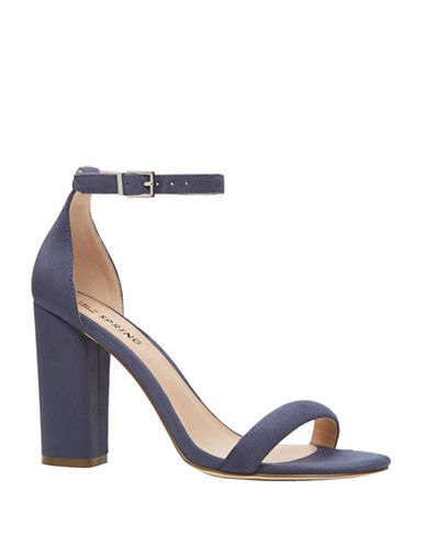 Call It Spring Brelawien Block Heel Sandals-BLUE-10