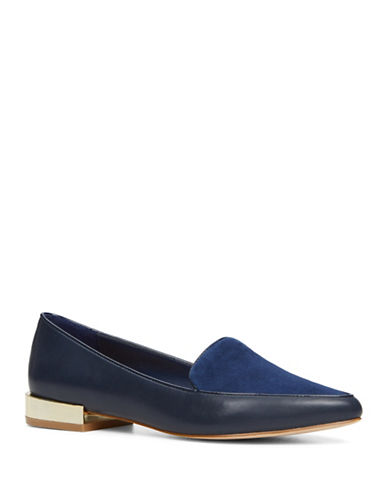 Image of Aldo Abbatha Dandy Loafers-NAVY-8
