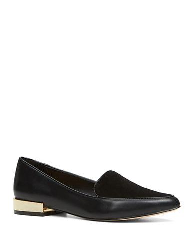 Image of Aldo Abbatha Dandy Loafers-BLACK-9