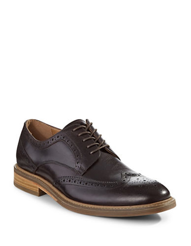 Pegabo Ginese Leather Brogues-BROWN-EU 46/US 13