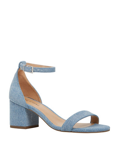 Call It Spring Borewiel Ankle Strap Sandals-BLUE-8.5