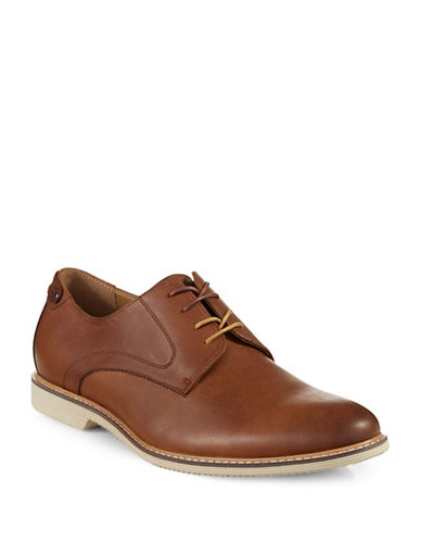 Pegabo Gwerralla Leather Shoes-RUST-EU 45/US 12