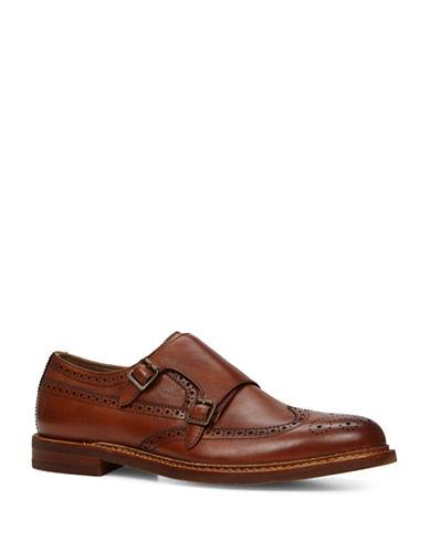 Aldo Briladien Leather Monk Shoes-RUST-7