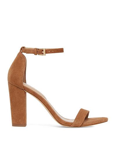 Aldo Myly Suede Block Heel Sandals-BEIGE-9
