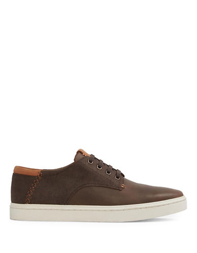 Aldo Afoima Low Top Sneakers-COGNAC-7.5