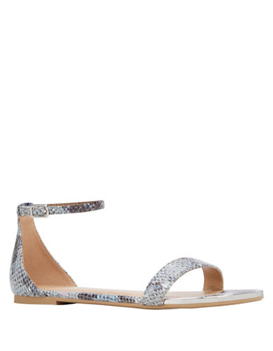 Call It Spring Mateare Flat Sandals-SNAKESKIN-9
