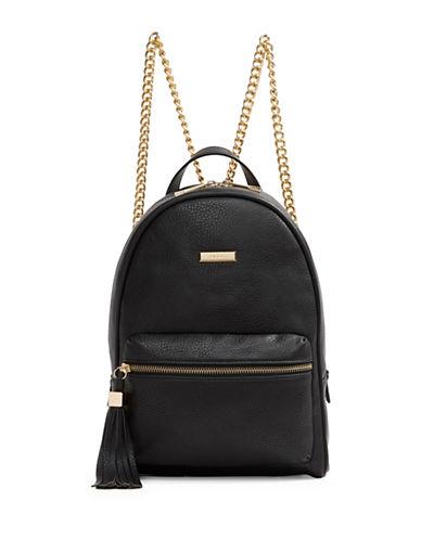 Aldo Acenaria Tassel Backpack-BLACK-One Size
