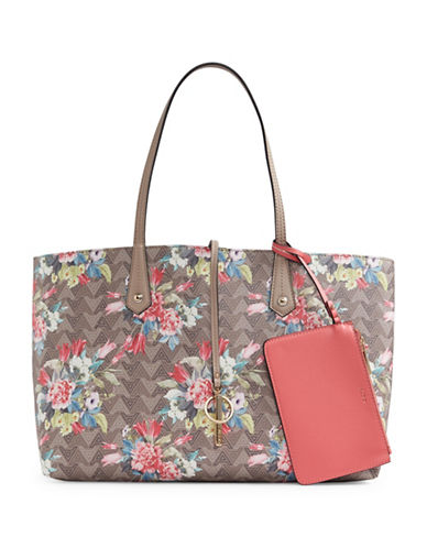 Aldo Brooking Floral Tote-BEIGE-One Size
