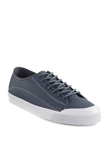 Hudson North Laraeria Canvas Sneakers-NAVY-10