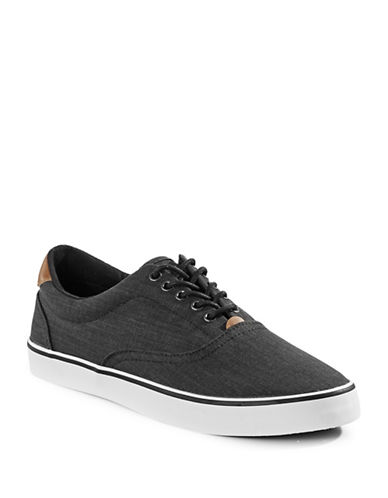 Hudson North Rene Woven Sneakers-BLACK-EU 45/US 12