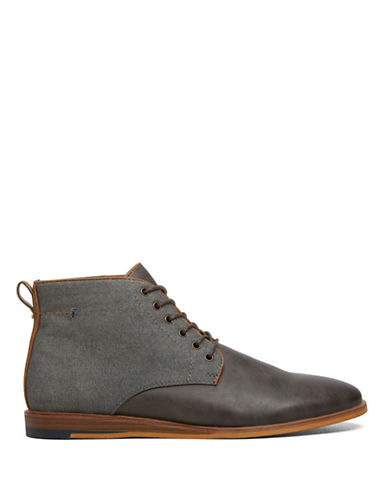 Call It Spring Faranda Wedge Boots-GREY-12