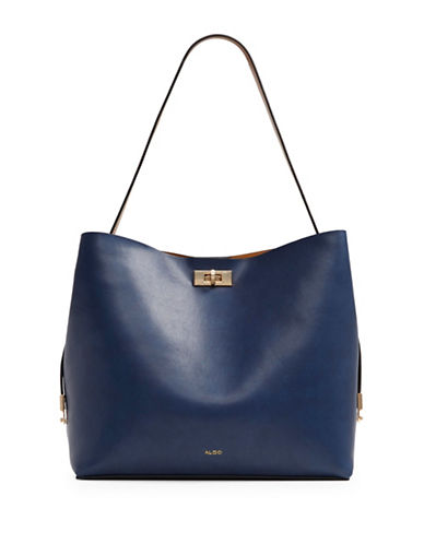 Aldo Plataci Colourblock Tote-BLUE-One Size