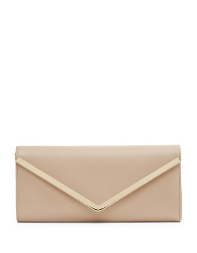 Aldo Bunkerhill Envelope Clutch-NATURAL-One Size