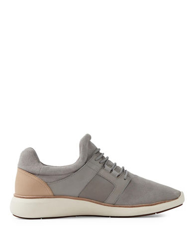 Aldo Gawley Leather Sneakers-GREY-12