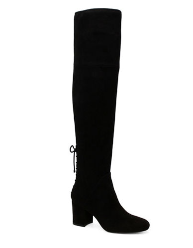 Aldo Adessi Block Heel Over-the-Knee Boots-BLACK-8
