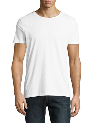 Boss Orange Tooles Cotton T-Shirt-WHITE-Small