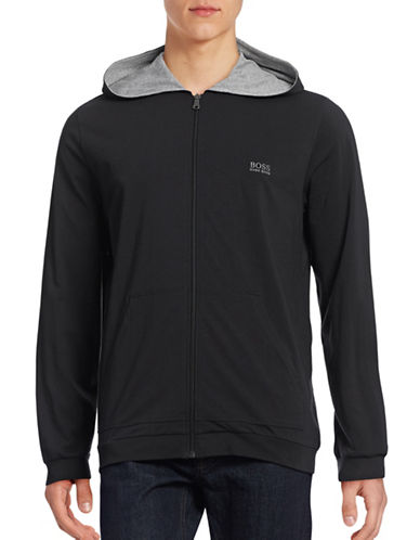 Boss Zip Front Hoodie-BLACK-Large 88707896_BLACK_Large