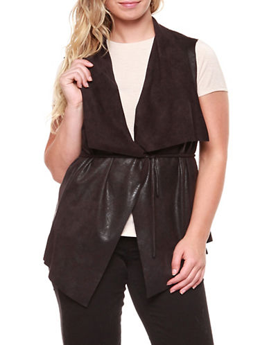 Dex Plus Coated Vest-BLACK-2X
