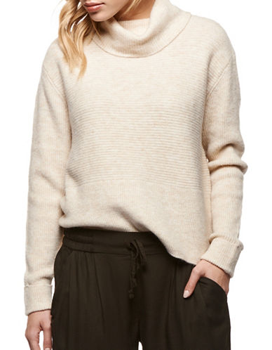 Dex Turtleneck Sweater-BEIGE-Medium