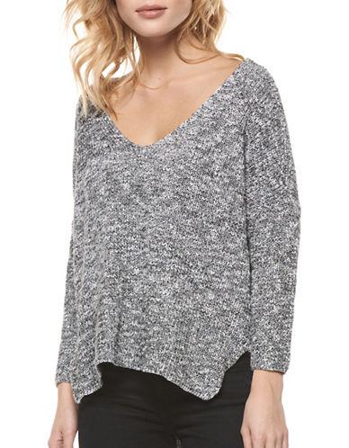 Dex Crisscross Back Sweater-BLACK MULTI-Small