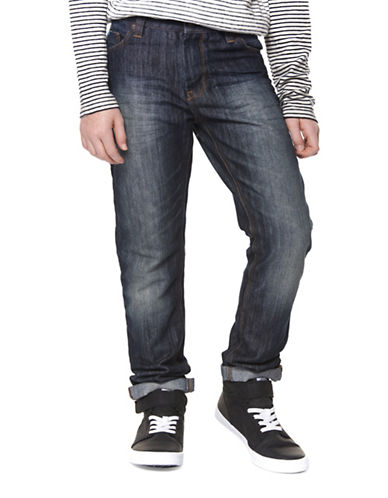 Dex Faded Cotton Jeans-BLUE-12
