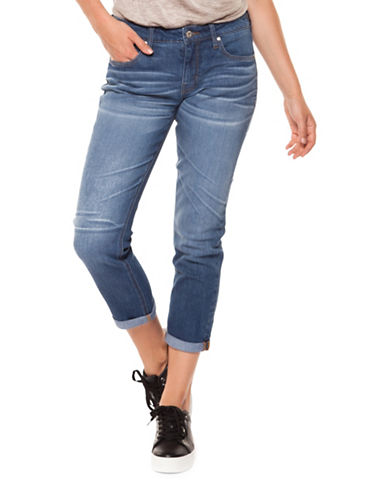 Dex Cuffed Slim Jeans-WAVE WASH-27