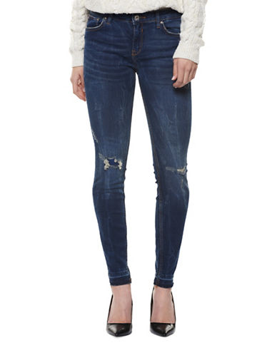 Dex Stretch Skinny Jeans-BLUE-26