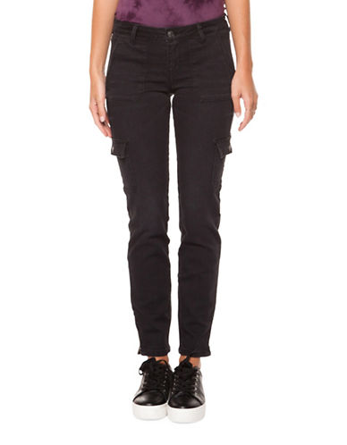 Dex Six-Pocket Skinny Jeans-GREY-28
