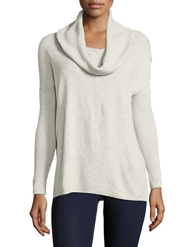 Dex Cowl Neck Heather Sweater-GREY-X-Large 89612193_GREY_X-Large