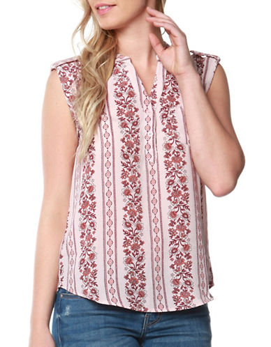 Dex Floral Top-BLUSH PRINT-Large