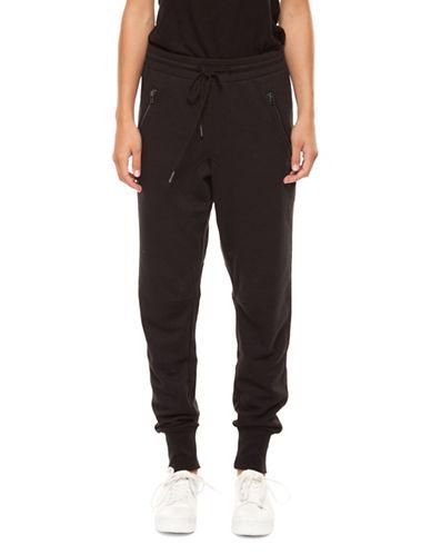 Dex Drop Crotch Sweatpants-BLACK-Small 90004439_BLACK_Small