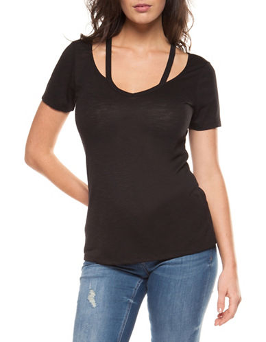 Dex V-Neck Short-Sleeve Tee-BLACK-Medium 90011738_BLACK_Medium
