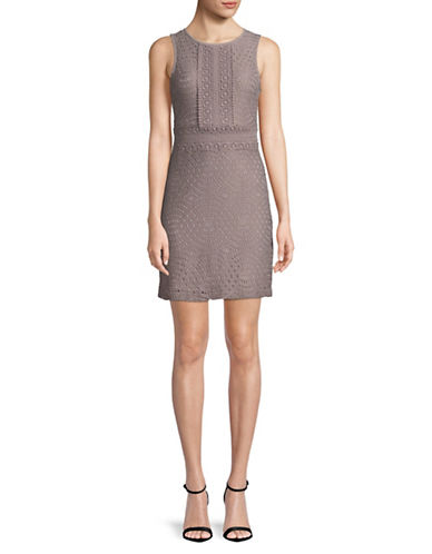 Dex Lace Sleeveless Dress-PINK-Large