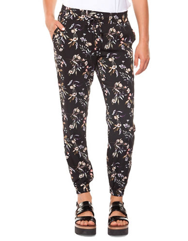 Dex Printed Jogger Pants-BLACK-X-Large 90004449_BLACK_X-Large