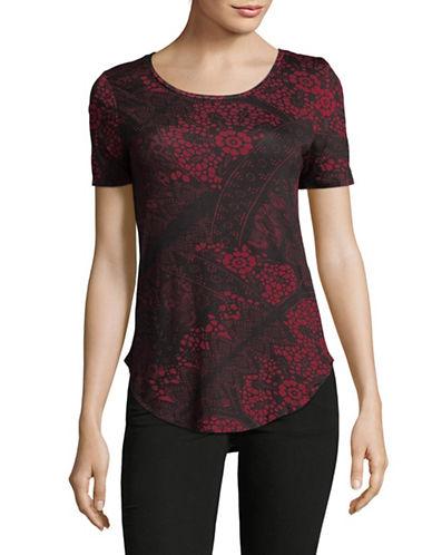 Dex Printed T-Shirt-BLACK-Small 89638292_BLACK_Small